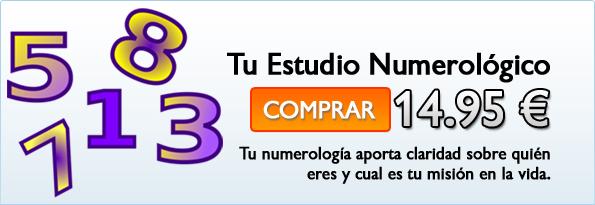 Comprar Estudio Numerológico