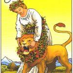 La Fuerza- Interpretación-Carta Tarot Arcanos Mayores