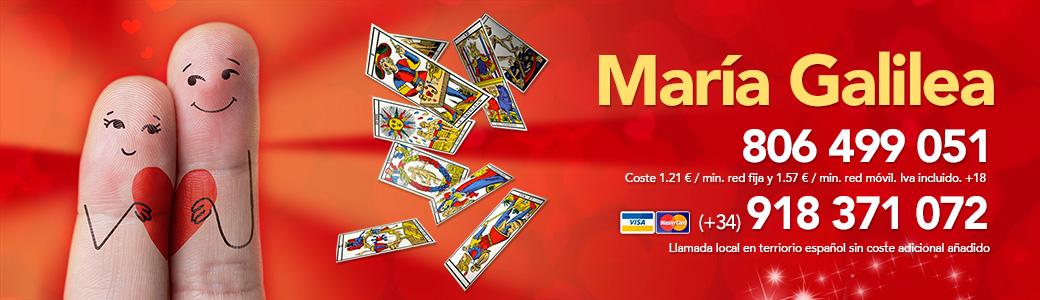 Tarot España María Galilea | Tarot amor – Tarot Visa – Videntes